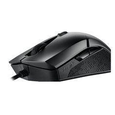 Мышь ASUS ROG STRIX Evolve, игровая, оптическая, проводная, USB, черный [90mp00j0-b0ua00]