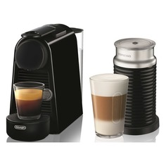 Капсульная кофеварка DELONGHI Nespresso Essenza mini Bundle EN85.BAE, 1260Вт, цвет: черный [0132191769] Delonghi