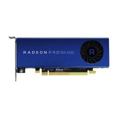 Видеокарта DELL AMD WX 3100 , Radeon Pro WX 3100, 4Гб, DDR5, oem [490-bdzw]