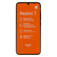 Смартфон XIAOMI Redmi 7 16Gb, черный