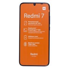 Смартфон XIAOMI Redmi 7 64Gb, синий