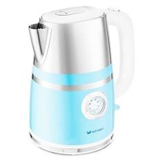 Чайник электрический KITFORT КТ-670-4, 2200Вт, голубой