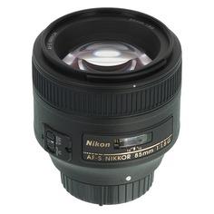 Объектив NIKON 85mm f/1.8 AF-S, Nikon F [jaa341da]