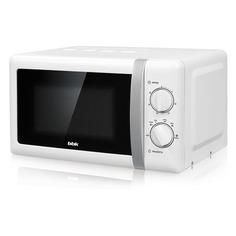 Микроволновая Печь BBK 20MWS-804M/WS/RU MG 20л. 800Вт белый/серебристый
