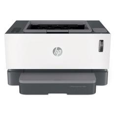 Принтер лазерный HP Neverstop Laser 1000w лазерный, цвет: белый [4ry23a]