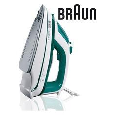 Утюг BRAUN TS345, 2000Вт, зеленый/ белый [0127394023]