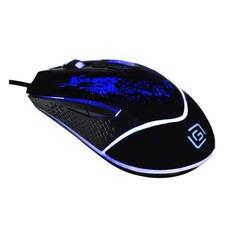 Мышь OKLICK 888G INFINITY, игровая, оптическая, проводная, USB, черный