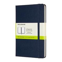 Блокнот Moleskine CLASSIC Medium 115x180мм 240стр. нелинованный твердая обложка синий 6 шт./кор.
