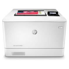 Принтер лазерный HP Color LaserJet Pro M454dn лазерный, цвет: белый [w1y44a]