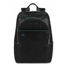 Рюкзак унисекс Piquadro Blue Square CA3214B2/N черный натур.кожа