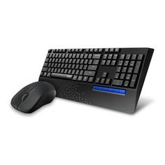 Комплект (клавиатура+мышь) RAPOO X1960, USB, беспроводной, черный [19018]