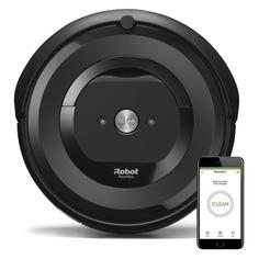 Робот-пылесос IROBOT Roomba e5, серый/черный