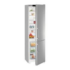 Холодильник LIEBHERR CNef 4015, двухкамерный, серебристый
