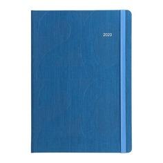 Ежедневник LETTS Block, A5, белые страницы, бирюзовый, 1 шт [081656]