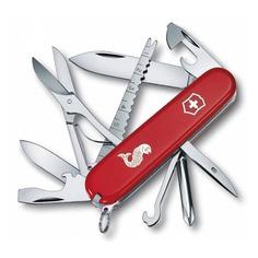 Складной нож VICTORINOX Fisherman, 18 функций, 91мм, красный