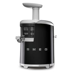 Соковыжималка SMEG SJF01BLEU, шнековая, черный