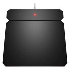 Коврик для мыши HP OMEN Outpost Mousepad, Medium, с системой беспроводной зарядки черный [6cm14aa]