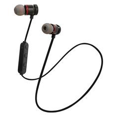 Наушники с микрофоном ARIAN HS-01BT, Bluetooth, вкладыши, черный [gear-104]