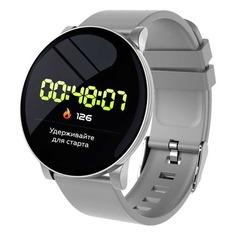 "Смарт-часы SMARTERRA SmartLife UNO, 1.3"", серебристый / серебристый [sm-slunow]"