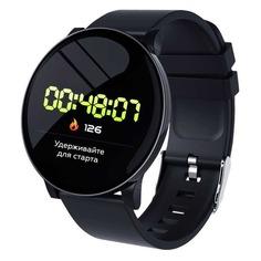 """Смарт-часы SMARTERRA SmartLife UNO, 1.3"""", черный / черный [sm-slunob]"""