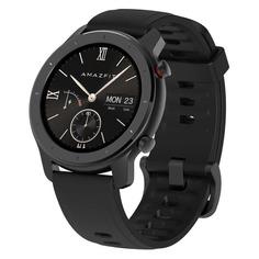 """Смарт-часы XIAOMI Amazfit GTR, 42мм, 1.2"""", черный / черный"""
