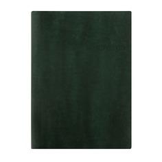 Ежедневник LETTS Lecassa, A5, кремовые страницы, кожа искусственная, темно-зеленый [081740]
