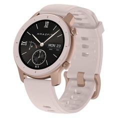 """Смарт-часы XIAOMI Amazfit GTR, 42мм, 1.2"""", розовый / розовый"""