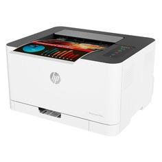 Принтер лазерный HP Color LaserJet 150nw лазерный, цвет: белый [4zb95a]