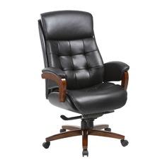 Кресло руководителя БЮРОКРАТ _Mega, на колесиках, кожа, черный [_mega/black]