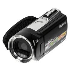 Видеокамера REKAM DVC-340, черный, Flash [2504000001]