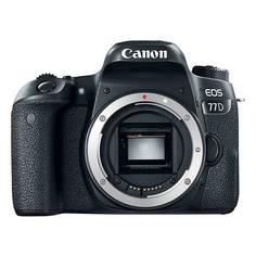 Зеркальный фотоаппарат CANON EOS 77D body, черный