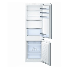 Встраиваемый холодильник BOSCH KIN86VF20R серебристый