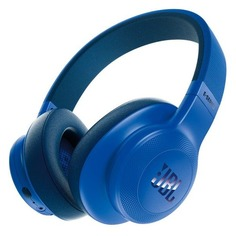 Наушники с микрофоном JBL E55BT Lifestyle, 3.5 мм/Bluetooth, мониторы, синий [jble55btblu]