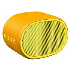 Портативная колонка SONY SRS-XB01, 3Вт, желтый [srsxb01y.ru2]