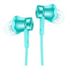 Наушники с микрофоном XIAOMI Mi In-Ear Basic, 3.5 мм, вкладыши, синий [zbw4358ty]