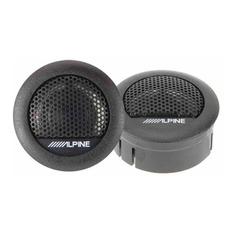 Колонки автомобильные ALPINE SXE-1006TW, твитер, 280Вт, комплект 2 шт.