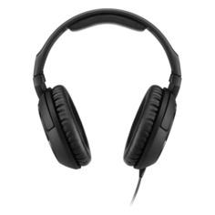 Наушники с микрофоном SENNHEISER HD 200 PRO, 3.5 мм, накладные, черный [507182]