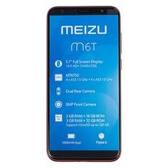 Смартфон MEIZU M6T 16Gb, красный