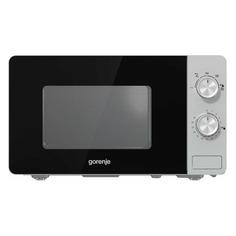 Микроволновая печь GORENJE MO20E1S, 800Вт, 20л, серебристый