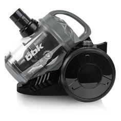 Пылесос BBK BV1503, 2000Вт, черный/серый