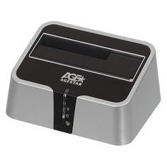 Док-станция для HDD AGESTAR 3UBT2, серебристый