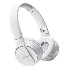 Наушники с микрофоном PIONEER SE-MJ553BT-W, Bluetooth, мониторы, белый