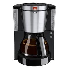Кофеварка MELITTA Look IV de luxe, капельная, черный [6708030]