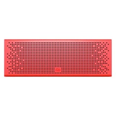 Портативная колонка XIAOMI Mi Bluetooth Speaker, 6Вт, красный [qbh4105gl]