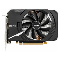 Видеокарта MSI nVidia GeForce GTX 1660 , GTX 1660 AERO ITX 6G OC, 6ГБ, GDDR5, OC, Ret