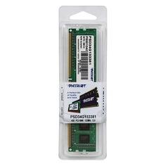 Модуль памяти PATRIOT PSD34G133381 DDR3 - 4Гб 1333, DIMM, Ret Патриот