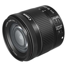 Объектив CANON 18-55mm f/4-5.6 EF-S IS STM, Canon EF-S, черный [1620c005]