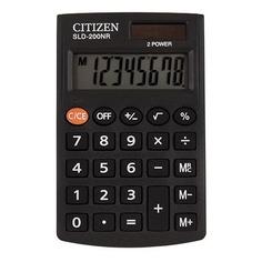 Калькулятор CITIZEN SLD-200NR, 8-разрядный, черный