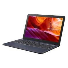 "Ноутбук ASUS VivoBook X543UA-DM1467, 15.6"", Intel Pentium 4417U 2.3ГГц, 4Гб, 500Гб, Intel UHD Graphics 620, DVD-RW, Endless, 90NB0HF7-M20730, серый"