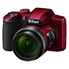 Цифровые фотоаппараты Цифровой фотоаппарат NIKON CoolPix B600, красный